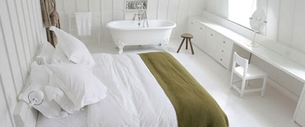 Klasik Beyaz Yatak Odaları