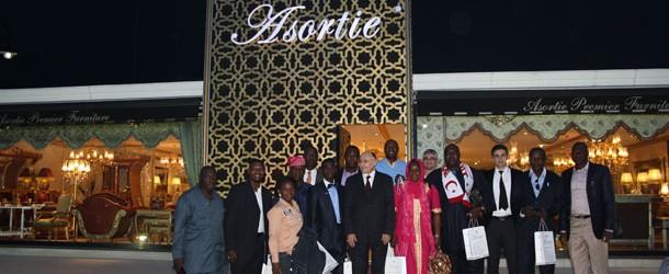 Nijeryalı işadamları Asortie Mobilya'yı tercih etti.