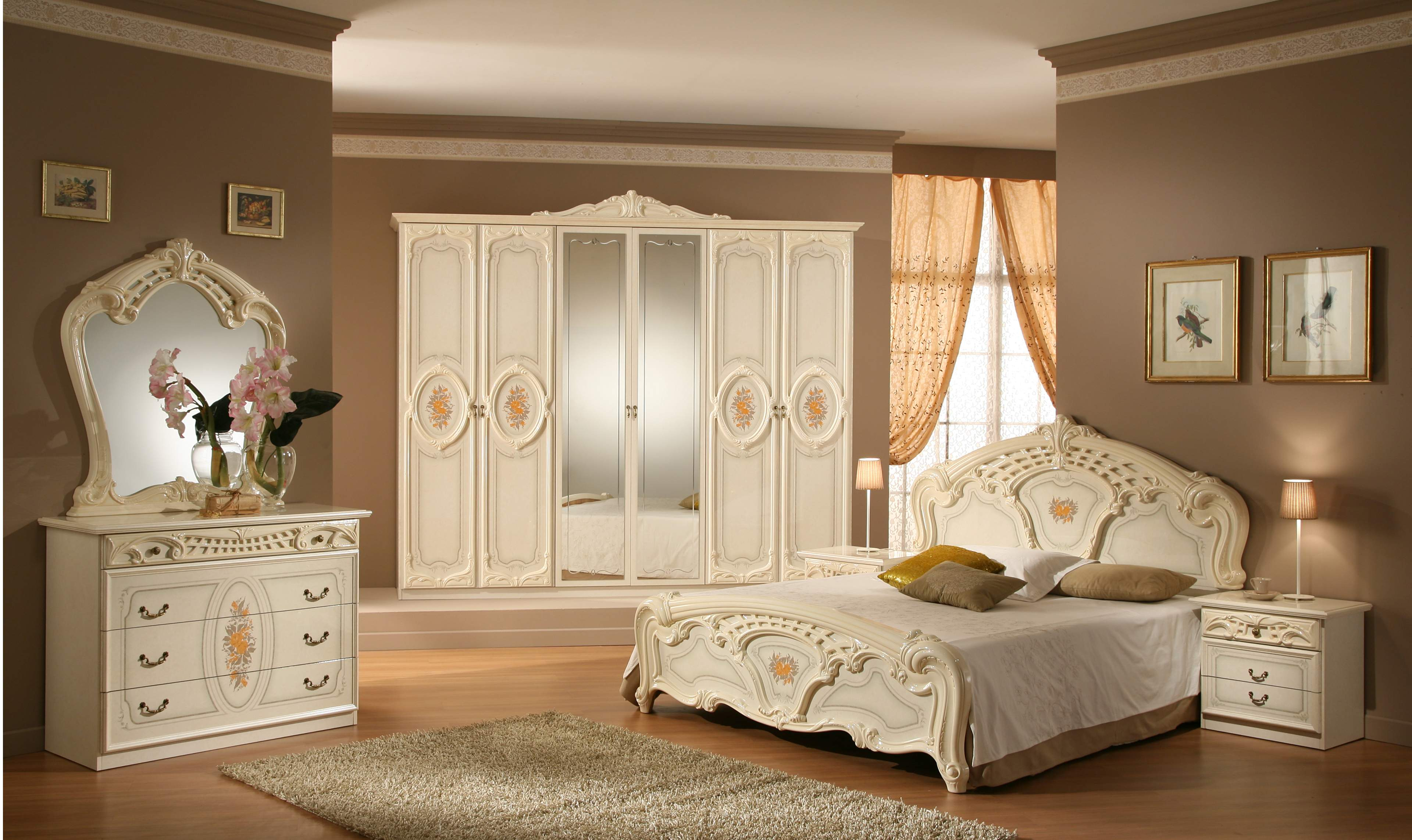 Klasik yatak odas tak mlar mobilya kulisi for Bedroom decorating ideas 2015 in pakistan