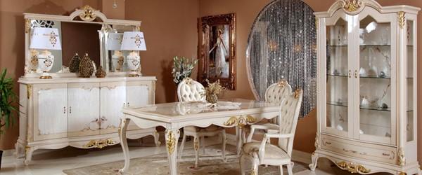 Klasik Tarz Yemek Odası Sandalyeleri