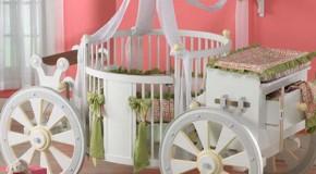 Arabalı Bebek Odası Takımları