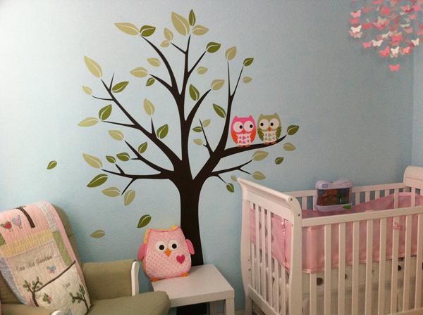 bebek-odası-duvar-dekorasyonu