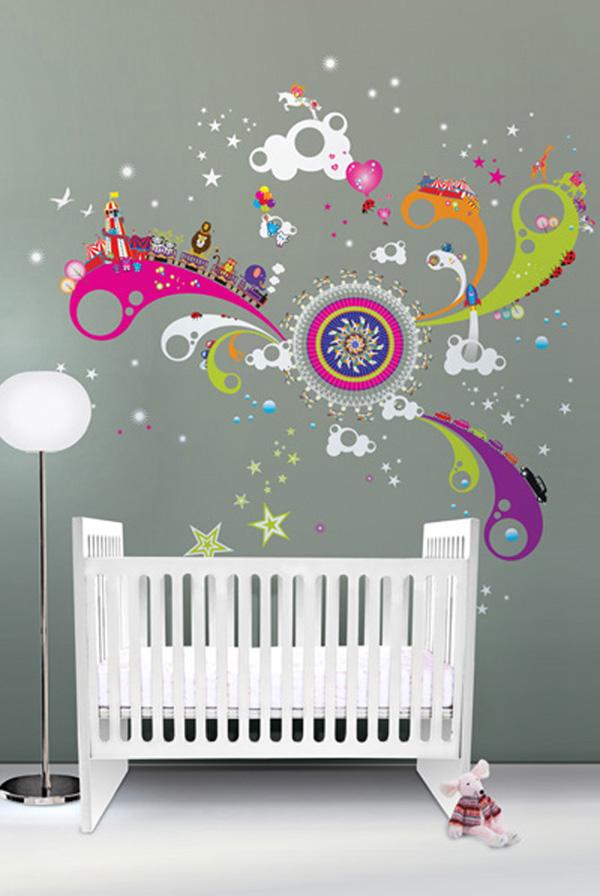 bebek-odası-duvar-süsleri