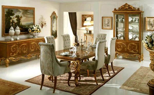 klasik-ev-dekorasyonu-örnekleri