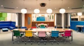 Renkli Ofis Sandalyeleri