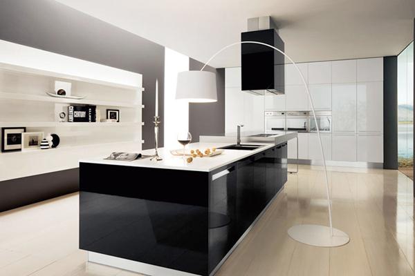 parlak-siyah-beyaz-mutfak-dolapları-modelleri-ve-fiyatları