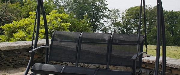 Tenteli Bahçe Salıncak Modelleri