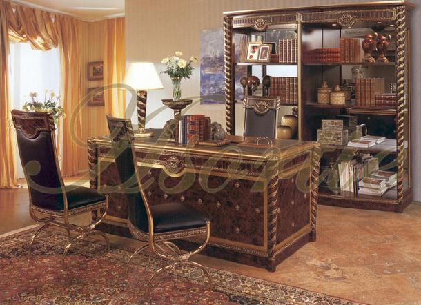ingiliz-tarzi-klasik-ofis-mobilyasi-takimi