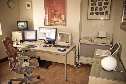 Home-Office-Ev-Ofis-Küçük-Ofis-Dekorasyon-Örnekleri-7