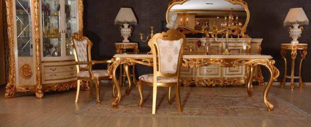 Klasik Yemek Odası ve Aksesuarları