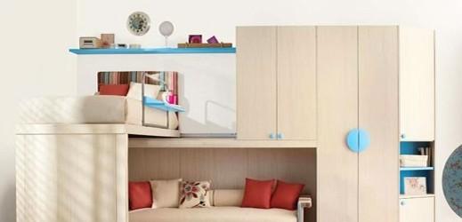 Ikedan Gençlere Yeni Nesil Tasarım:Ranzalı Yatak Odası