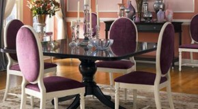 Klasik Tarzda Yemek Odası Dekorasyonu