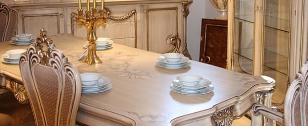 Klasik Tasarıma Saygı Duruşu Klasik Yemek Odaları