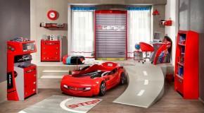 Çilek Arabalı Çocuk Odası