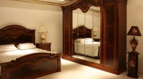 Doğal Ahşap Yatak Odaları
