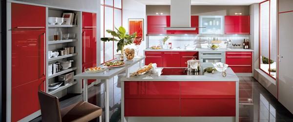 Kırmızı Mutfak Modelleri ve Fiyatları