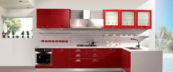 Kırmızı Mutfak Modası