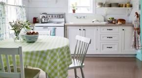 Yazlık Ev Mutfak Dekorasyonu Örnekleri