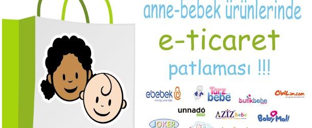 Anne Babaların Yeni Tercihi Bebek Alışveriş Siteleri