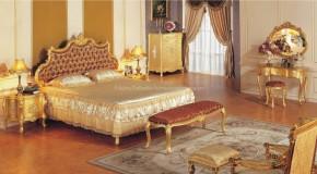 Lüks Yatak Odası dekorasyonu