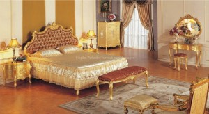 lüx yatak odası