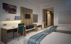 Otel odası dekorasyonu
